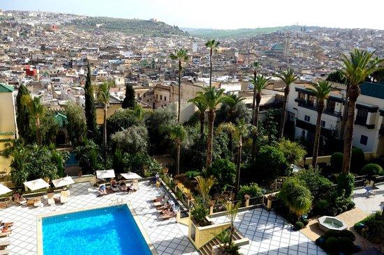 Sofitel Fes Palais Jamai : The pool