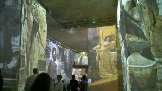 Carrières de Lumières : Klimt et Vienne
