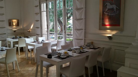 Design Suites Salta: Frühstückssaal