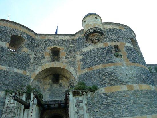 Château d'Angers : ворота