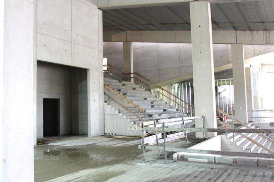 Moesgaard Museum: the entrance hall