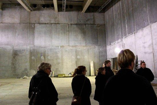 Moesgaard Museum: one of the big exhibition rooms