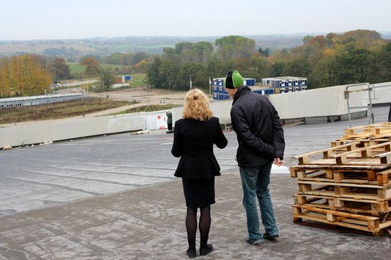 Moesgaard Museum: You can walk right up the roof