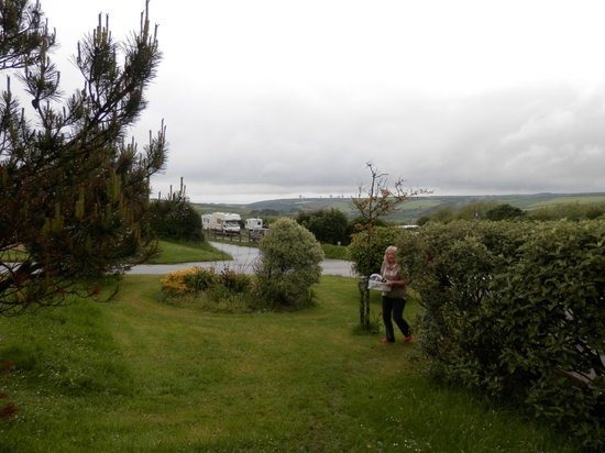 Pentire Haven Holiday Park: Damping rather than Glamping!