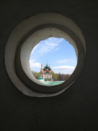 Yaroslavl Architectural Historical and Art Museum Preserve: Вид со звонницы