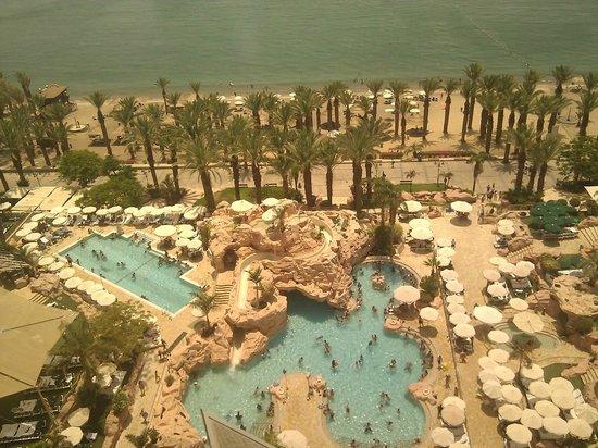 Dan Eilat : Территория отеля и пляж