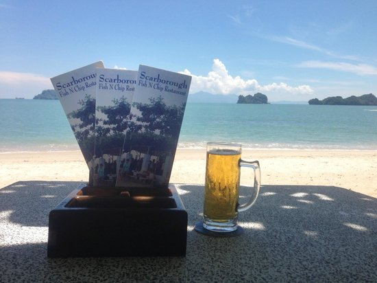 Scarborough Fish & Chips Restaurant: Draft beer RM5