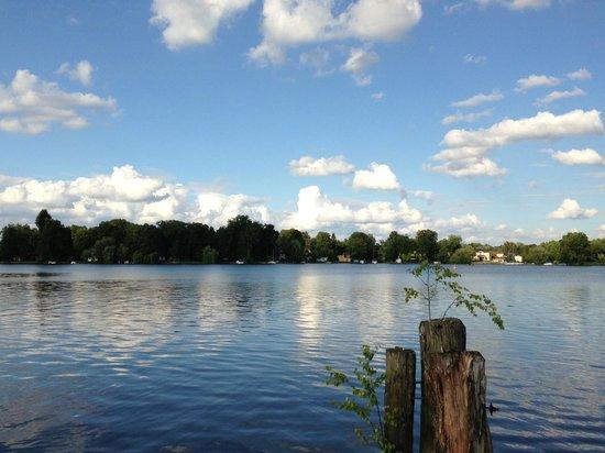 Seehotel Zeuthen: Blick auf den Zeuthener See