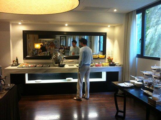 Hotel Pulitzer Roma: petit dejeuner