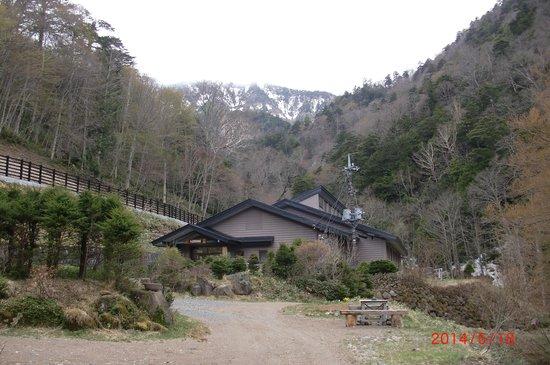 Teshirozawa Onsen: 宿全景
