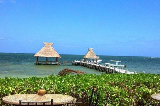 Zoetry Paraiso de La Bonita: The hotel's pier