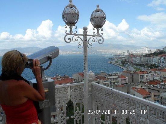 Aksan Hotel: Izmir desde lo alto!