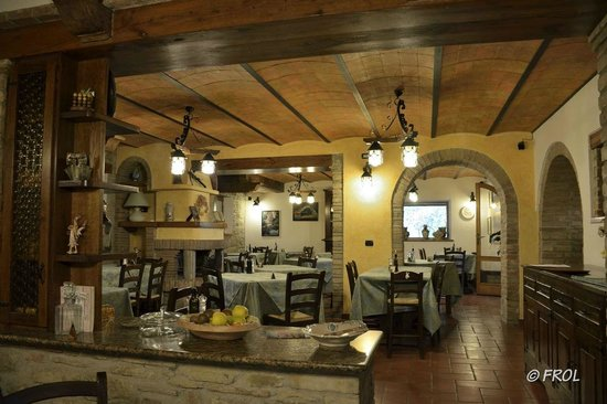 Agriturismo Villa Dama: Sala da pranzo