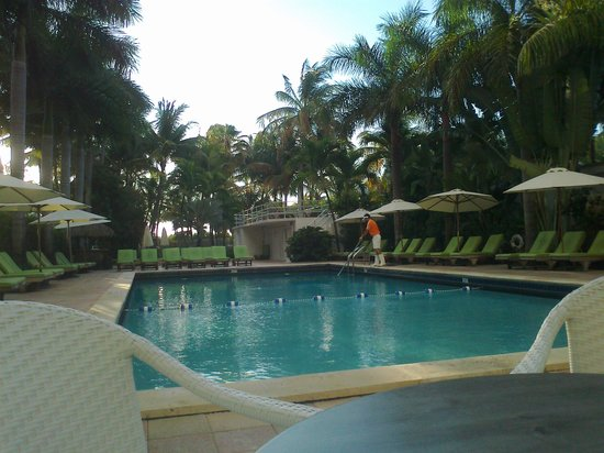 South Seas Hotel: Poolside