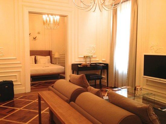 The House Hotel Galatasaray: Executive suite - côté rue