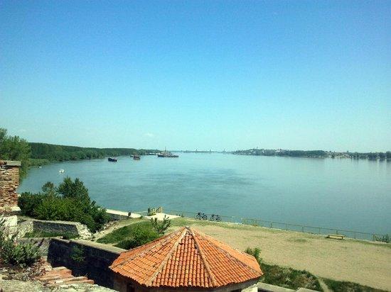 "Baba Vida Fortress: Danube river view from top of ""Baba Vida"""