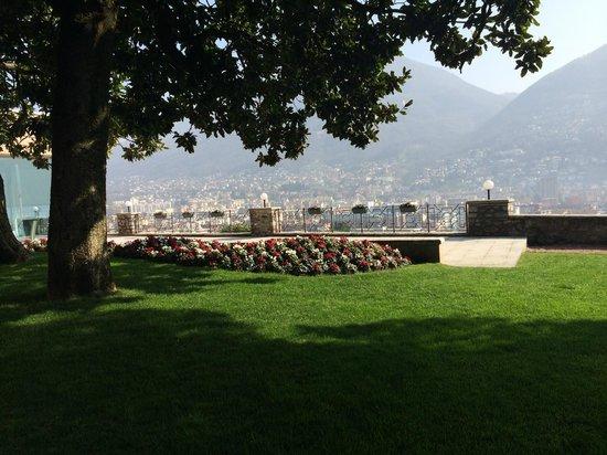 Villa Sassa Hotel, Residence & Spa : vista lago
