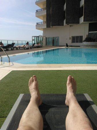 Melia Alicante: Pool in the sun.