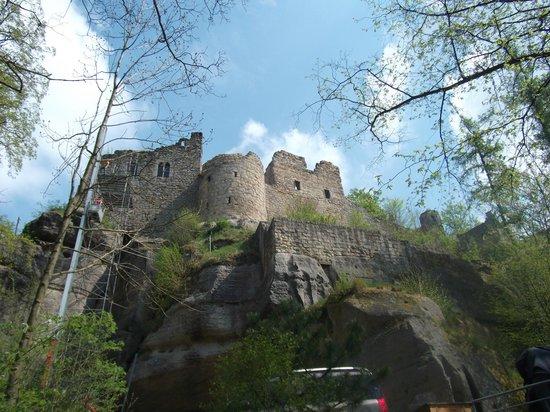 Burg- und Klosterruine Oybin: castle Oybin