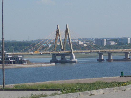 Millenium Bridge: Вид на мост Миллениум