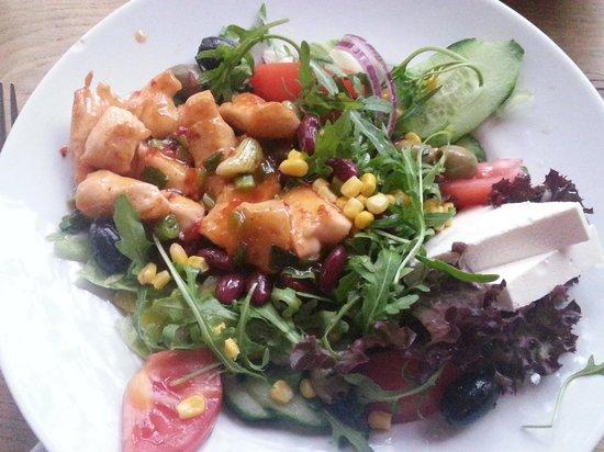 Lichtblick: Hähnchen-Mango-Salat...empfehlenswert