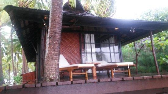 Vahine Island Resort: Terrazza