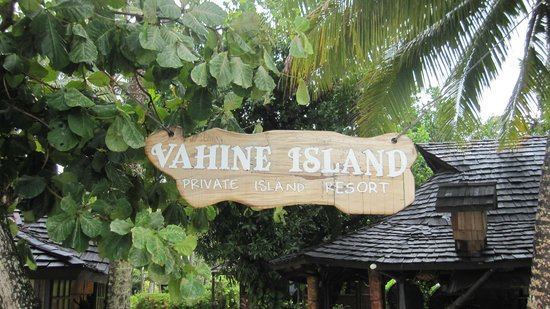 Vahine Island - Private Island Resort: Hotel