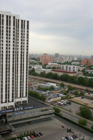 Izmailovo Gamma Delta : Blick auf Moskau vom 21. Stockwerk