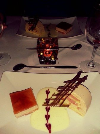 Chateau Bleu : dessert