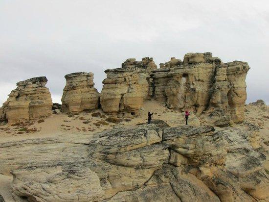 Calafate Mountain Park: Formaciones rocosas II