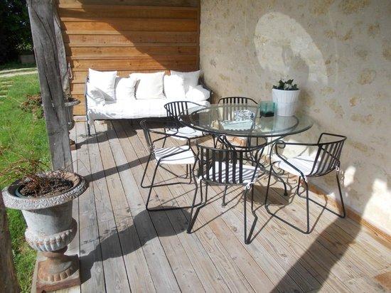 5 Lasserre : Terrasse Duplex
