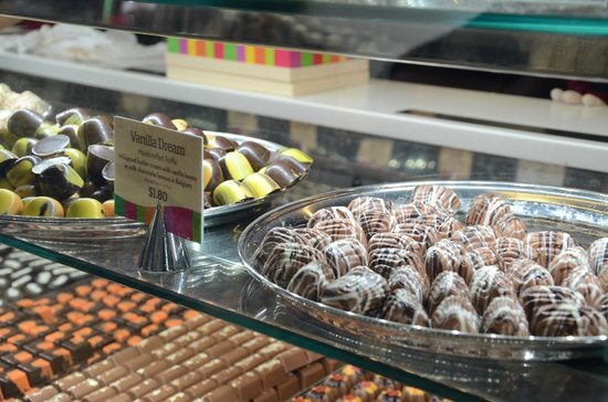 Yarra Valley Chocolaterie & Ice Creamery: the yummy choco
