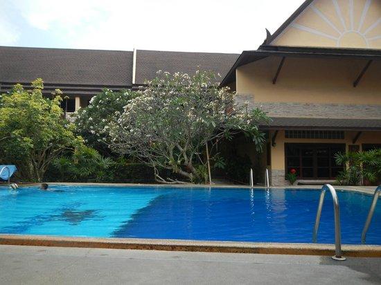 Asia Divers Resort: At the pool