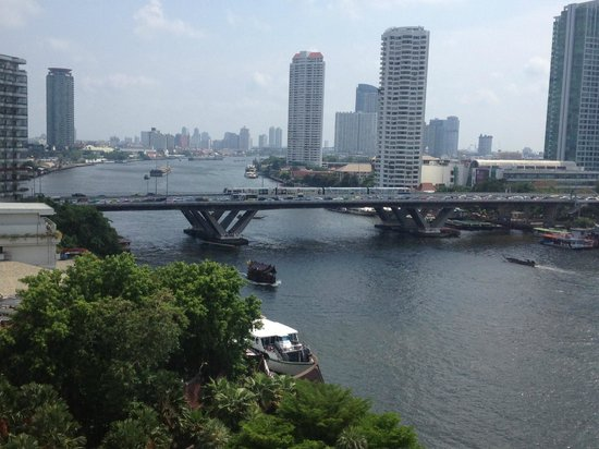 Shangri-La Hotel Bangkok: View from the room