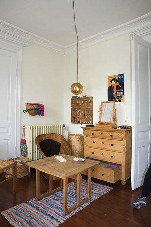 Den Gamle By, musée national de plein air d'histoire et de culture urbaine : inside an apartment