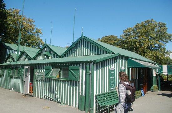 Boatshed Cafe: Die Landseite