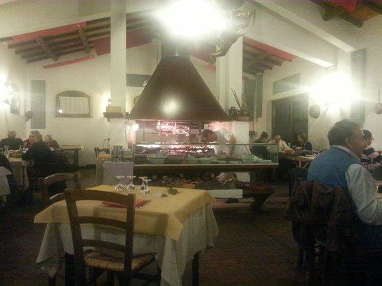 Ristoro Re Di Puglia: The big barbecue at the Re di Puglia restaurant