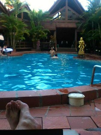 Angkoriana Hotel: Lazy afternoon chill