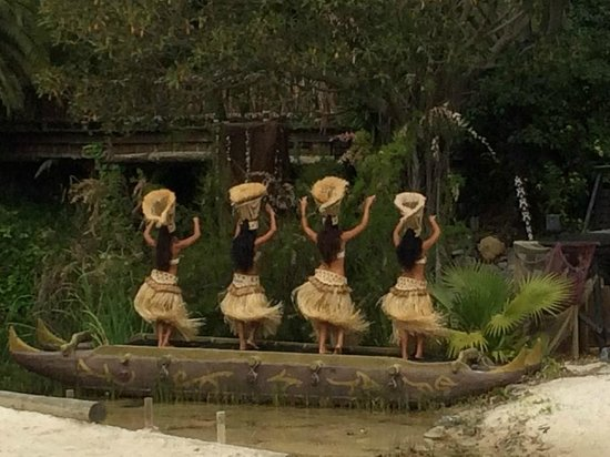 PortAventura Park: spectacle polynesie