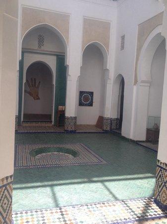 Musee de Marrakech - Fondation Omar Benjelloun: Patio
