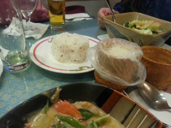 Thai Thai Restaurant: Nicely presented.