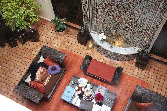 The Repose : Living Room of riad