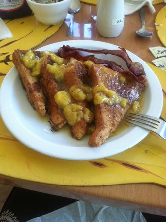 Toby's Resort: French toast