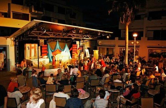 Aparthotel Roc Las Rocas: Spectacle du Club Marmara