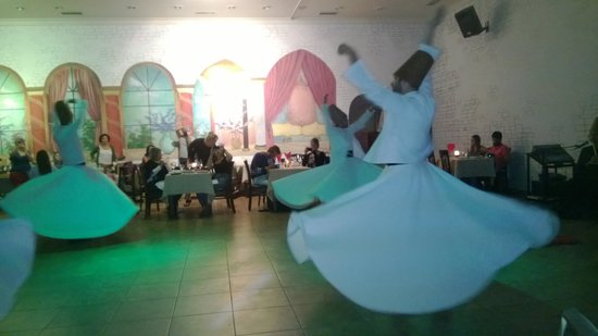 Best Western Citadel Hotel : Sufi Dance in a location close to the Hotel  in Istanbul