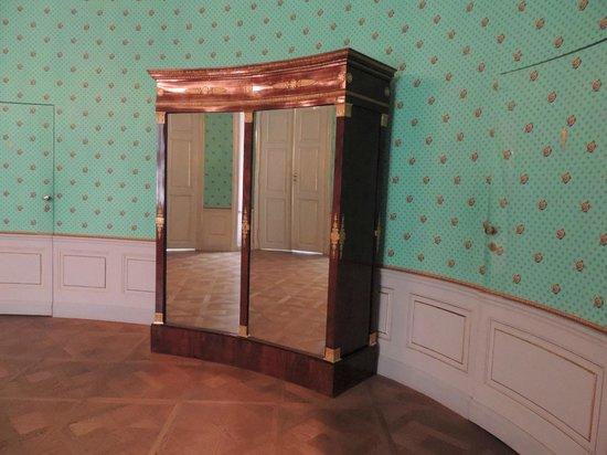 stanza ovale interno Albertina