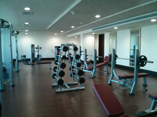 Gym picture of dusit thani abu dhabi