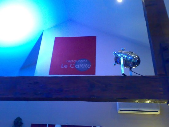 Restaurant Le Carré : LE CARRE AVIGNONE