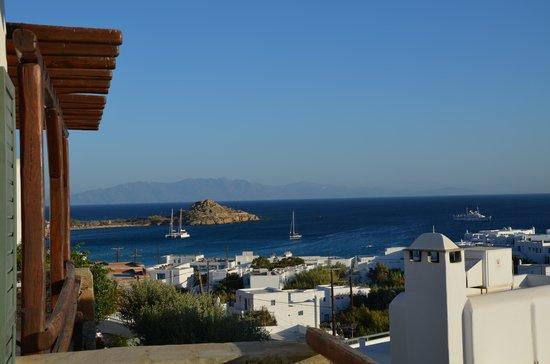 Pelican Bay Art Hotel: vista dalla camera da letto