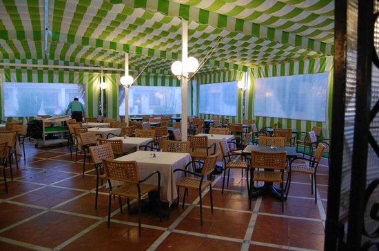 Globales Pueblo Andaluz: Dining Area
